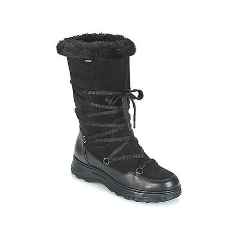 Geox D HOSMOS B ABX women's Snow boots in Black