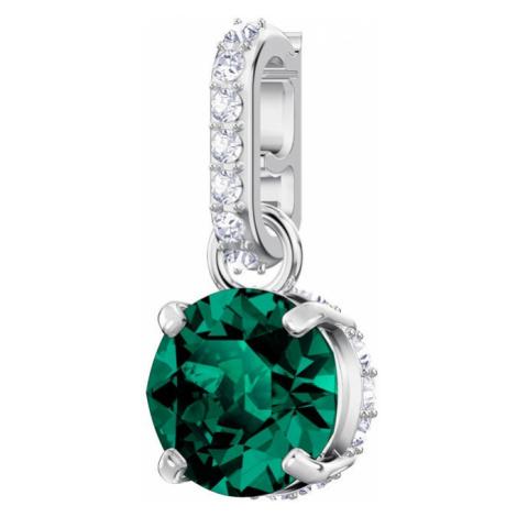 Swarovski Remix Emerald May Birthstone Crystal Charm