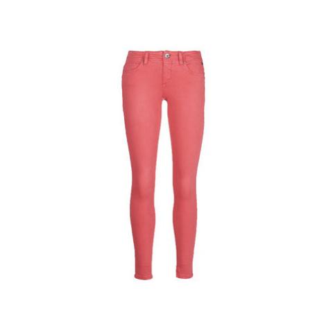 Freeman T.Porter Dorya New Magic Color women's Trousers in Red Freeman T. Porter