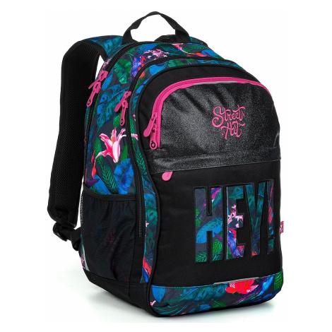 backpack Topgal RUBI 19030 - G/Black - girl´s