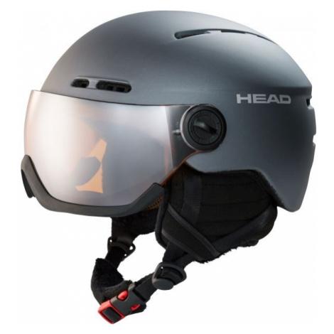 Head KNIGHT dark gray - Ski helmet