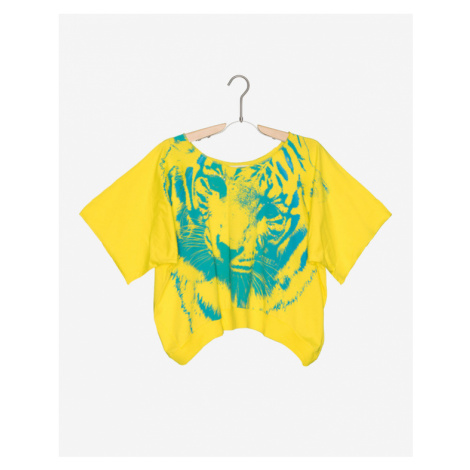 Diesel Kids T-shirt Yellow