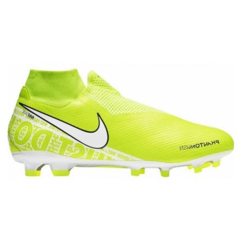 Nike PHANTOM VISION PRO DF FG light green - Men's football boots