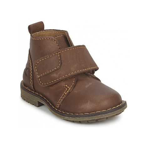 Citrouille et Compagnie MELDUNE boys's Children's Mid Boots in Brown