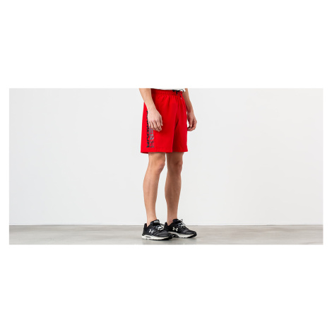 Under Armour Woven Graphic Wordmark Shorts Red/ Black