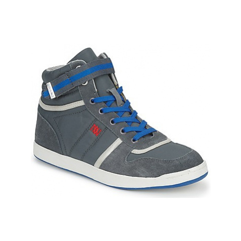 Dorotennis BASKET NYLON ATTACHE women's Shoes (High-top Trainers) in Grey