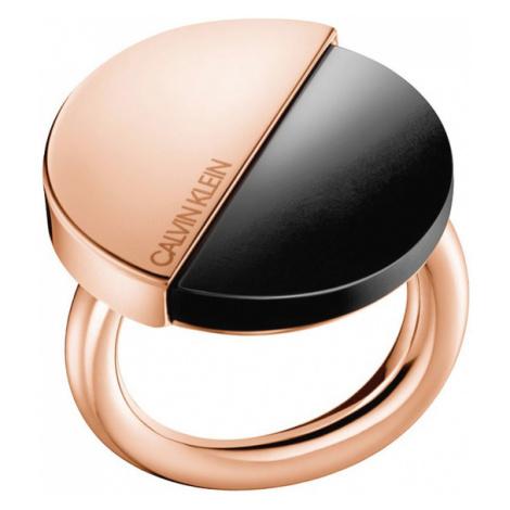 Calvin Klein Ring Black Beige