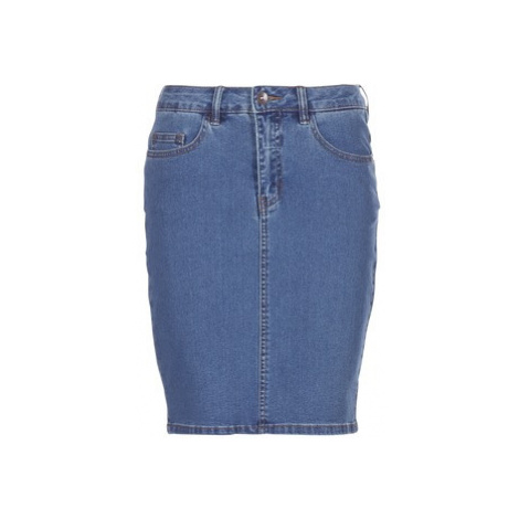 Vero Moda VMHOT NINE women's Skirt in Blue