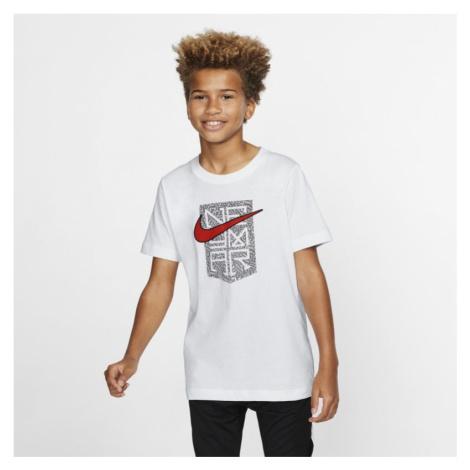 Neymar Jr. Older Kids' T-Shirt - White Nike