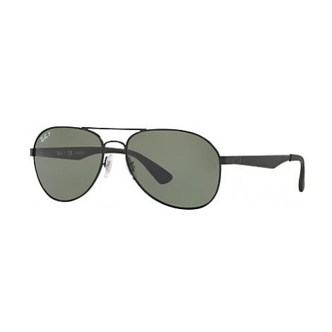 Ray-Ban RB3549 Polarised Aviator Sunglasses