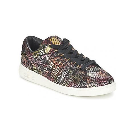 K-Swiss LOZAN TONGUE TWISTER women's Shoes (Trainers) in Multicolour