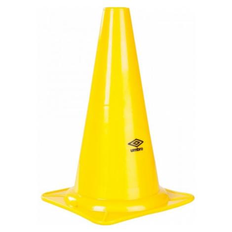 Umbro COLOURED CONES - 30cm yellow - Marker cones