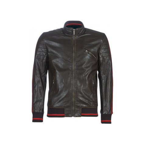 Desigual ANTON men's Leather jacket in Brown