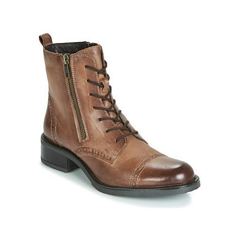 Elue par nous FENELLA women's Mid Boots in Brown