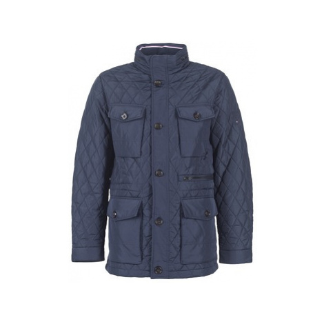 Tommy Hilfiger QUILTED JKT men's Parka in Blue