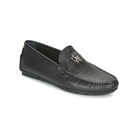 Roberto Cavalli 8372 men's Loafers / Casual Shoes in Black