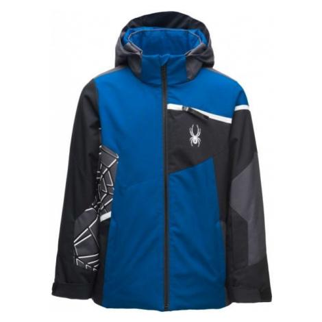 Spyder CHALLENGER JACKET blue - Boys' jacket
