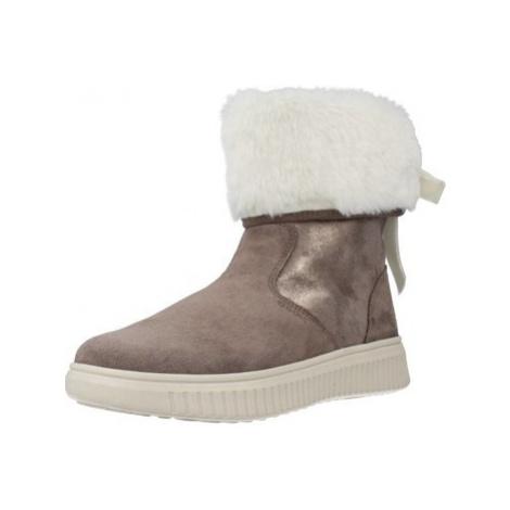 Geox J DISCOMIX GIRL girls's Children's Snow boots in Grey