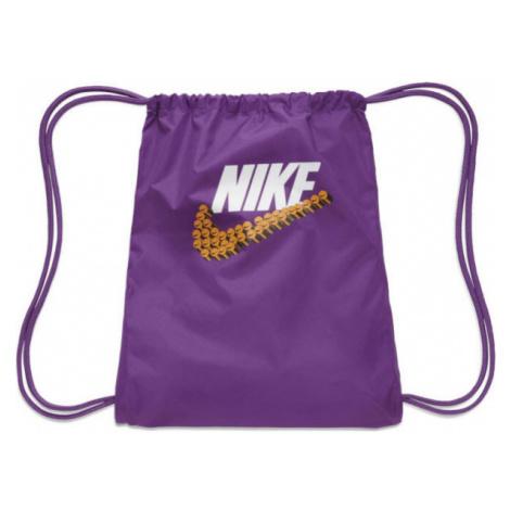 Nike GRAPHIC GYMSACK purple - Gym sack