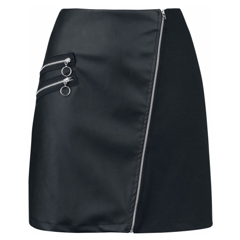 Outer Vision Madonna Skirt Short skirt black