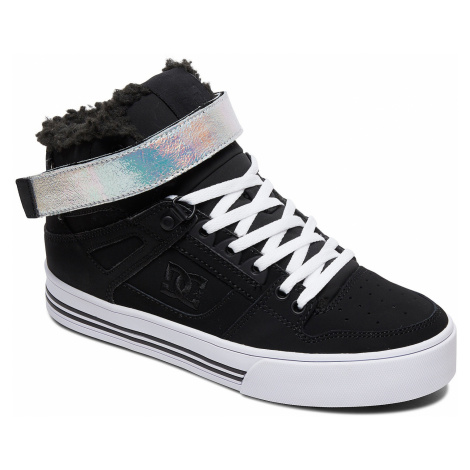shoes DC Pure High -Top V WNT - BS2/Black/Silver - women´s