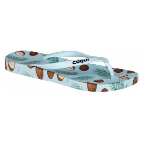 Coqui KAJA blue - Women's flip-flops