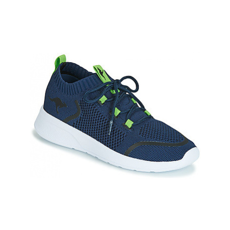 Kangaroos KF WEAVE boys's Children's Shoes (Trainers) in Blue