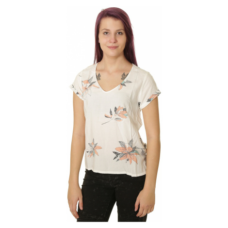 T-Shirt Roxy City Sights - XWBM/Marshmallow Flowee With Space - women´s