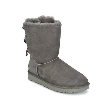 UGG BAILEY BOW II women's Mid Boots in Grey