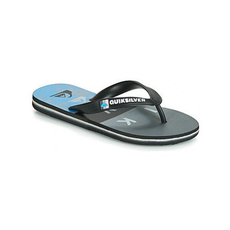 Quiksilver MOLOKAI WORDBLOCK VOLLEY YTH B SNDL XKKB girls's Children's Flip flops / Sandals in B