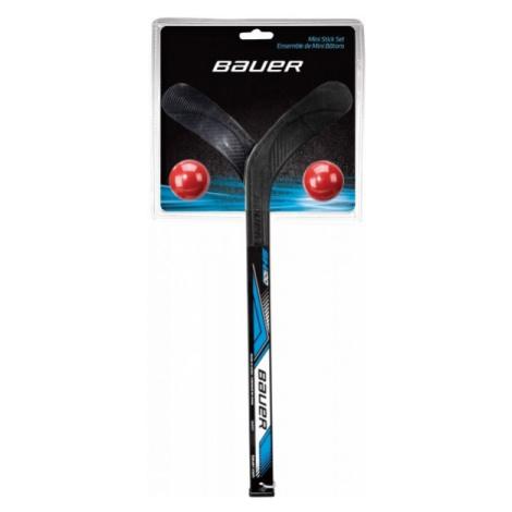 Bauer MINI STICK SET - Ball and hockey sticks set