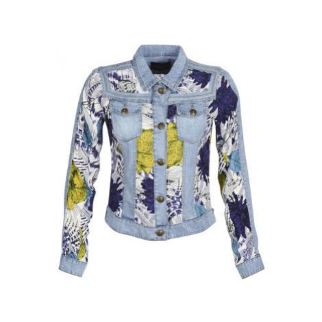 Desigual GISELA women's Denim jacket in Blue