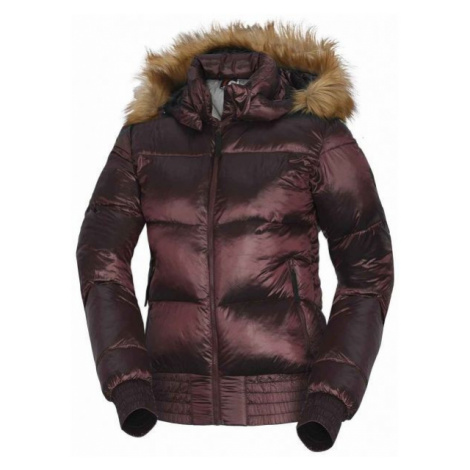 Northfinder GRETHA red wine - Women's jacket