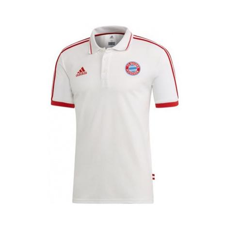 FC Bayern Training Polo - White Adidas