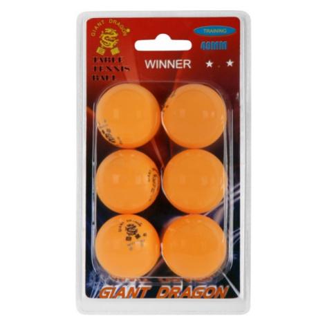 Giant Dragon ORG PI PO MICKY 6PCS - Table tennis balls