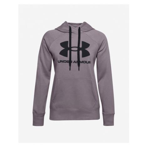 Under Armour Rival Fleece Logo Sweatshirt Violet