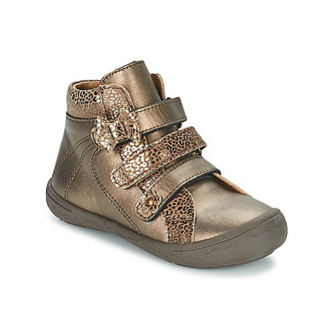 Citrouille et Compagnie FALIE girls's Children's Mid Boots in Gold
