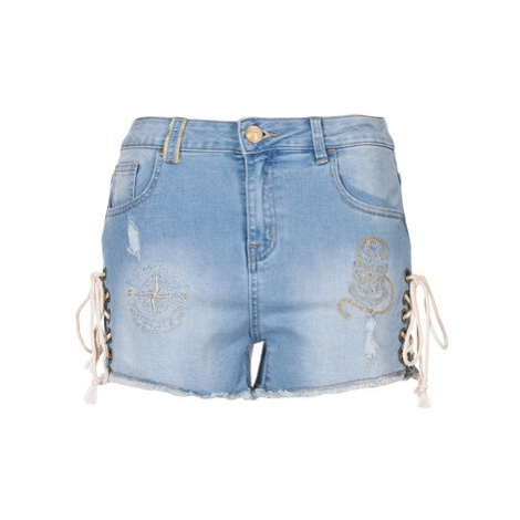 Desigual DREOJ women's Shorts in Blue
