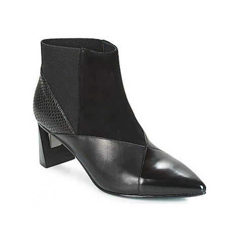 United nude ZINK PATCH MID women's Low Ankle Boots in Black