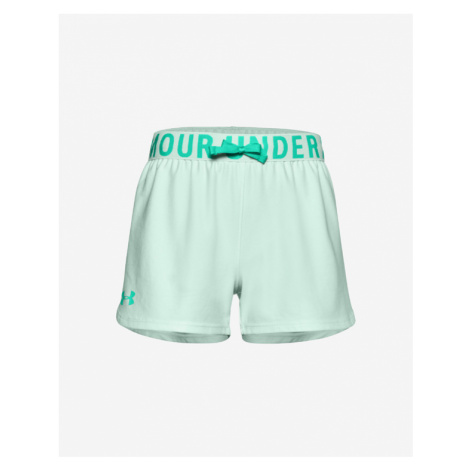 Under Armour Play Up Solid Kids Shorts Green