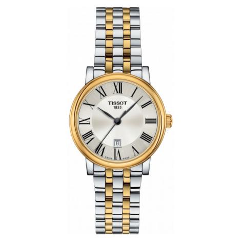 Ladies Tissot Carson Quartz Watch T1222102203300