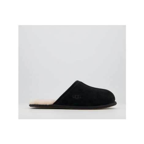 UGG Scuff Slippers NEW BLACK SUEDE
