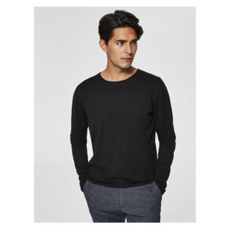 Selected Homme Dome Sweater Black