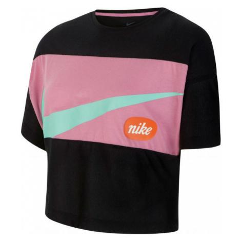 Nike TOP SS JDIY G black - Girls' T-shirt