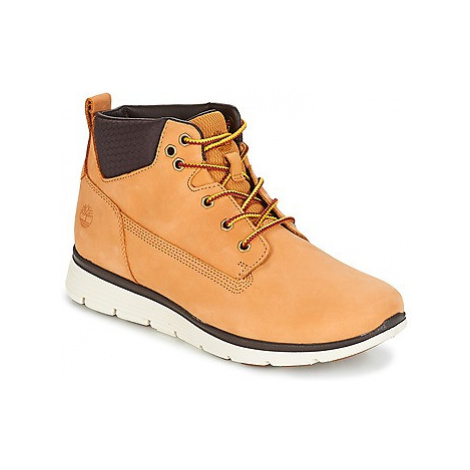 Timberland Killington Chukka girls's Children's Shoes (High-top Trainers) in Brown