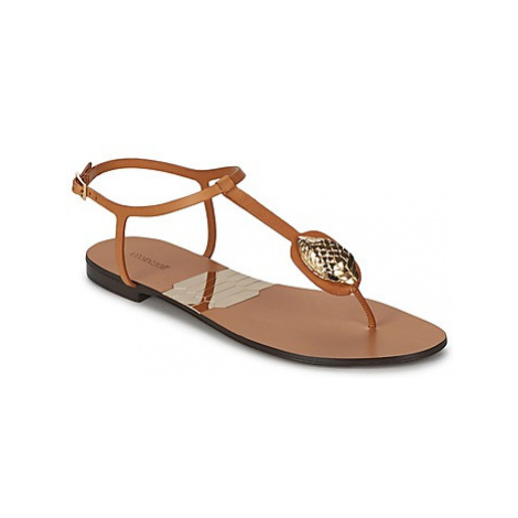 Roberto Cavalli XPX243-PZ220 women's Flip flops / Sandals (Shoes) in Brown