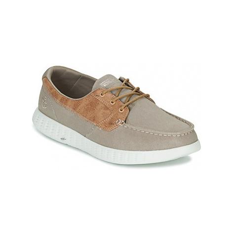 Skechers ON-THE-GO GLIDE men's Boat Shoes in Beige