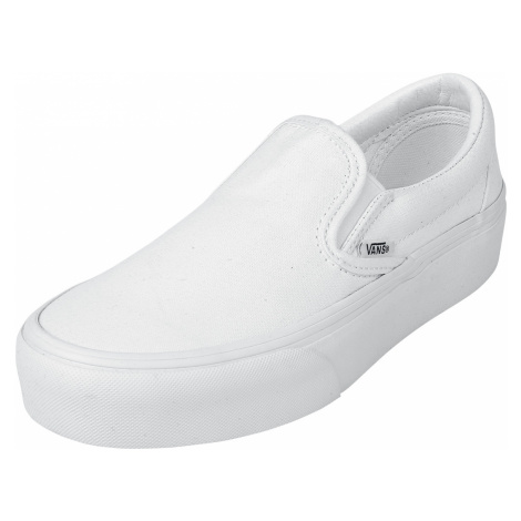 Vans - Classic Slip-On Platform - Sneakers - white