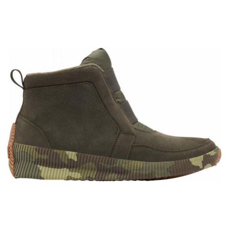 Sorel OUT N ABOUT PLUS MID SUEDE green - Women's winter footwear