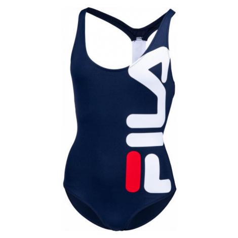 Fila YUKO SWIMSUIT dark blue - Women's one piece swimsuit